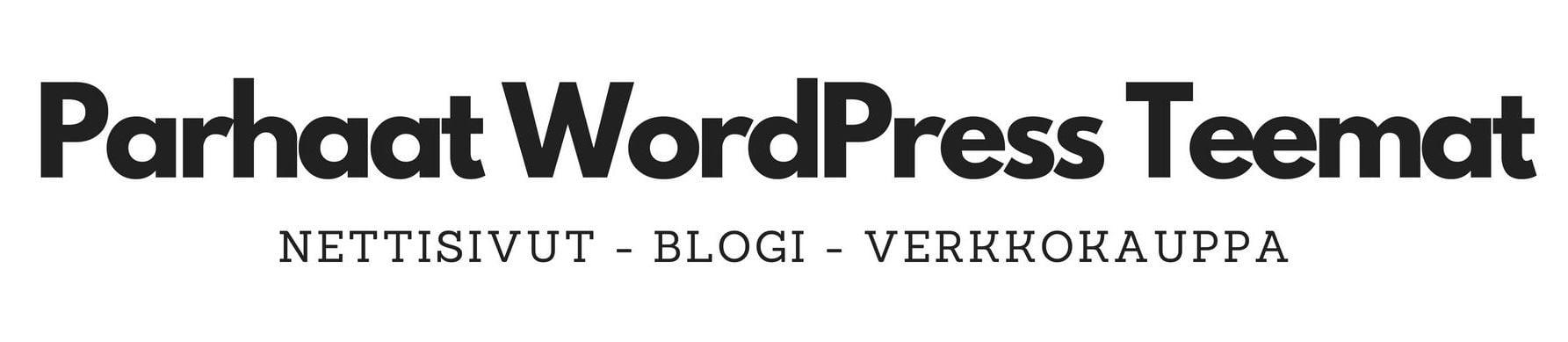 parhaat wordpress teemat